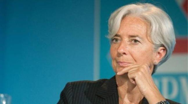 Christine Lagarde est favorite pour succéder à DSK à la direction du FMI. –  F. DUPUY / SIPA
