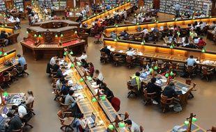 La bibliothèque de La Trobe University, à Melbourne