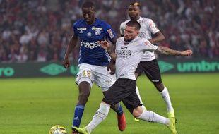 Coupe de la ligue: finale Strasbourg - Guingamp