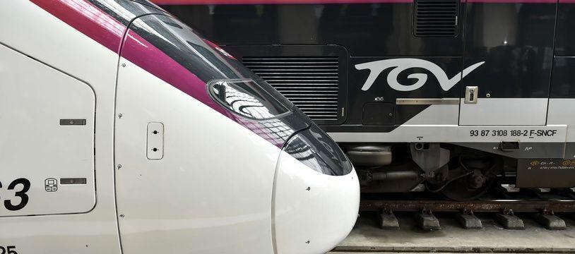 Un TGV reliant Paris à Bordeaux (illustration).