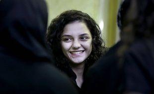 La militante Sanaa Seif.