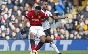 Anthony Martial a inscrit un superbe but à Fulham, le 9 février 2019.