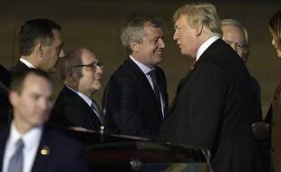 Donald Trump est arrivé à Buenos Aires, en Argentine.
