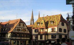 Dans le centre-ville d'Obernai (illustration).
