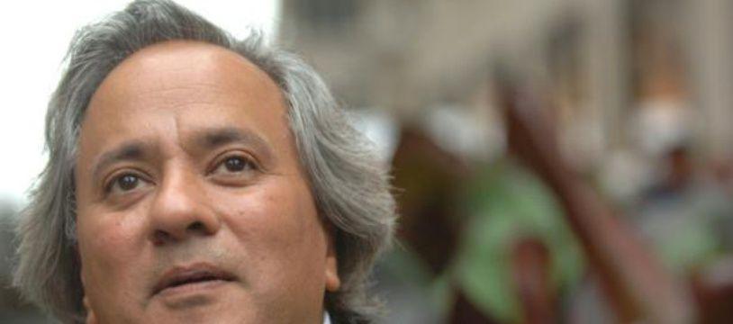L'artiste Anish Kapoor à New York le 19 septembre 2006