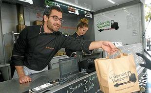 Le Gourmet Vagabond s'est installé fin novembre sur la place Hoche.
