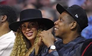 Beyonce et Jay-Z en mars 2016