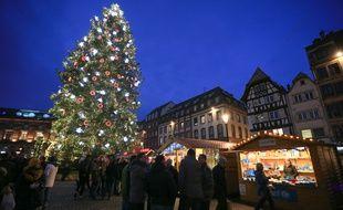 Le marché de Noël de Strasbourg 2015. (Illustration)