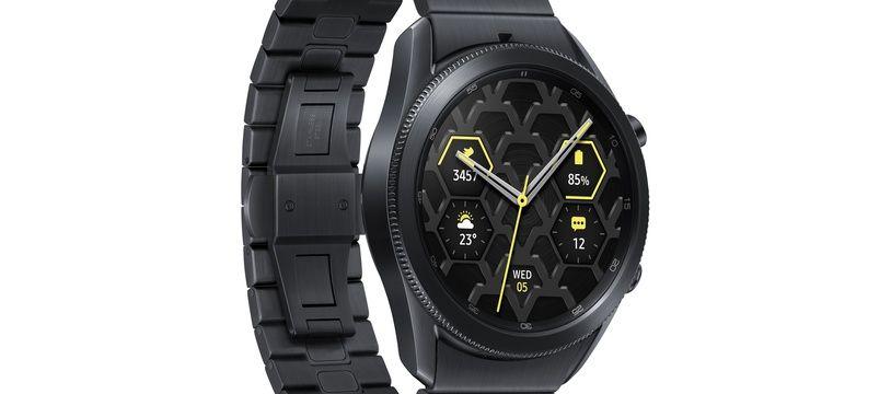 Du mardi 1er au dimanche 6 décembre 2020, profitez d'une remise de 70 euros sur les montres connectées Galaxy Watch.