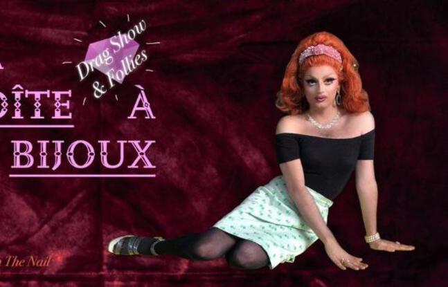 Visuel officiel de la soirée Drag : La Boîte à Bijoux