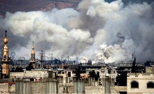 Une explosion en Syrie.
