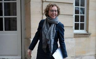 Muriel Penicaud, le 9/2/2018 à Paris. AFP PHOTO / STEPHANE DE SAKUTIN