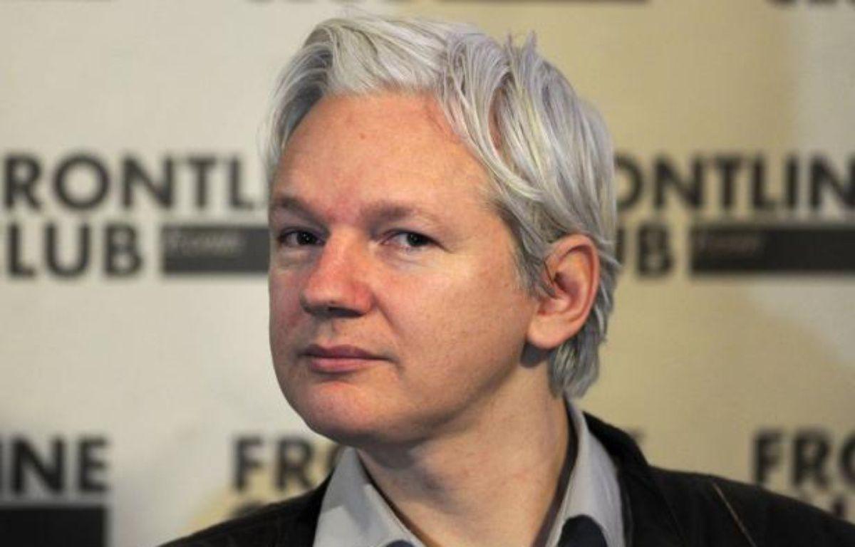 La Cour suprême britannique a annoncé jeudi son rejet de la demande de réexamen de l'appel formé par Julian Assange contre son extradition en Suède. – Carl Court afp.com