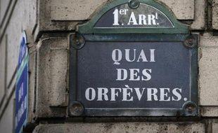 Le quai des Orfèvres, au numéro 36 duquel se trouve le célèbre siège de la police judiciaire de Paris