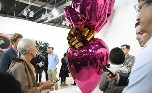 La foire d'art contemporain « Art Basel » avait lieu du 13 au 16 juin.