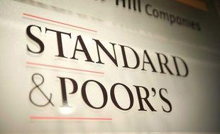 Le logo de l'agence de notation Standard & Poor's.