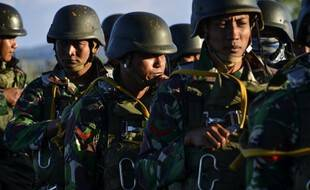Des militaires indonésiens (photo illustration).