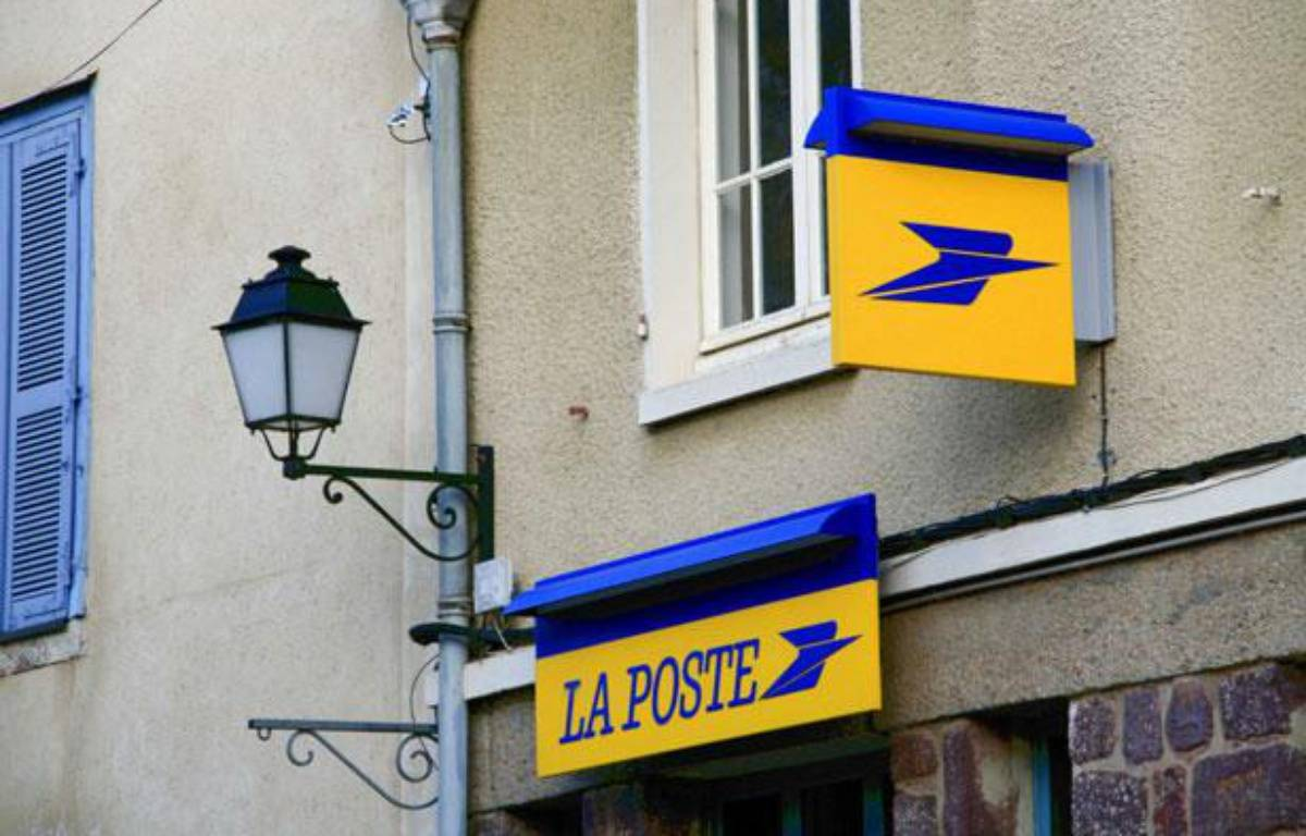 Photo d'illustration du logo de la Poste. – GILE MICHEL/SIPA
