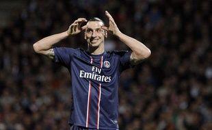 Zlatan Ibrahimovic, le 12 mai 2012 à Gerland.