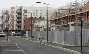 Logements en construction à Clichy-sous-Bois
