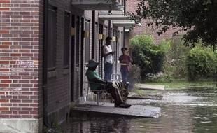 La côte atlantique américaine était préparée vendredi 14 septembre 2018 à subir de plein fouet l'impact de l'ouragan Florence qui menaçait de provoquer des inondations catastrophiques.