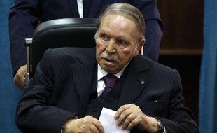 Le président algérien Abdelaziz Bouteflika, le 4 mai 2017.