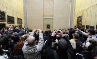 La salle des Etats  du musée du Louvre abrite notamment la Joconde