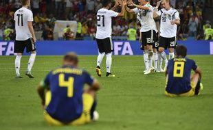 Les Allemands reviennent de très loin face à la Suède