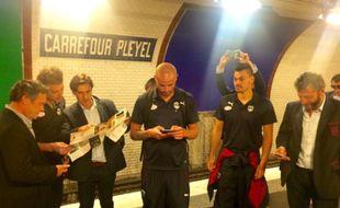 Les Bordelais dans le métro