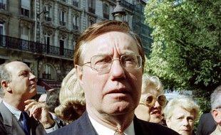 Pierre Sidos, membre de la Jeunesse franciste, un des fondateurs du mouvement d'extrême droite