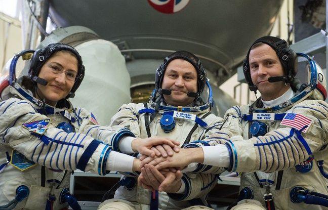 Station spatiale internationale: Deux spationautes sont prêts à repartir après un lancement raté