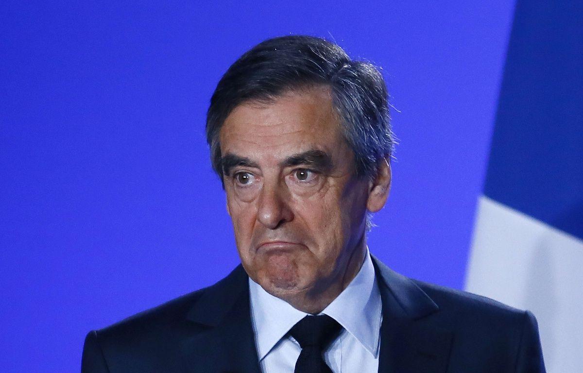 François Fillon, lors de son discours le 1er mars, pour annoncer qu'il ne se retire pas. – Francois Mori/AP/SIPA