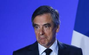 François Fillon, lors de son discours le 1er mars, pour annoncer qu'il ne se retire pas.