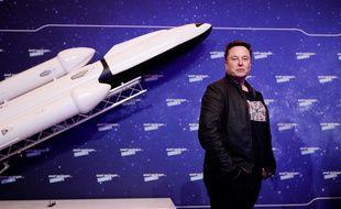 Elon Musk, le fondateur de SpaceX le 1er décembre 2020