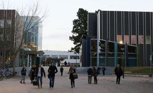 Le campus du Tertre de l'université de Nantes.