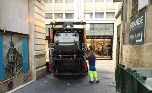 Le camion poubelle est passé uniquement dans le quartier Saint-Pierre