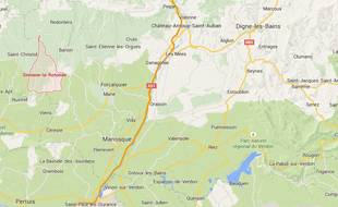 Une petite fille qui voulait continuer sa baignade s'est cachée pendant trois heures non loin de Simiane-la-Rotonde, (Alpes-de-Haute-Provence)