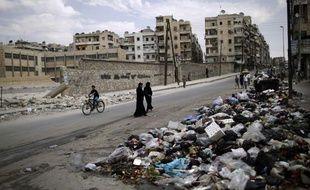 A Alep en Syrie, le 11 septembre 2012.