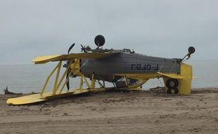 Les avions se sont crashés sur la plage de Saint-Pierre-la-Mer près de Narbonne.