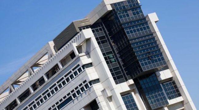Le ministère de l'économie à Bercy. – JPDN/SIPA