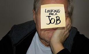 Un senior au chômage.
