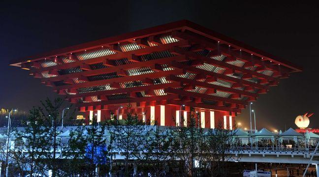 Le pavillon chinois lors de la dernière exposition universelle, en 2010 à Shanghai. – WITT/SIPA