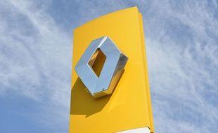 Le logo de la marque automobile Renault.