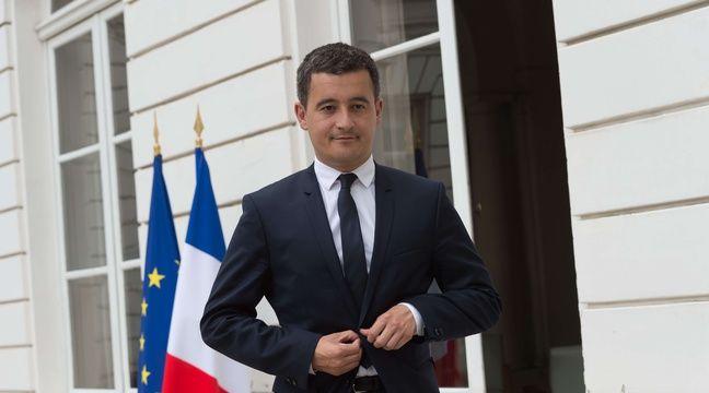 Gérald Darmanin, ministre de l'Action et des Comptes publics va consulter les entreprises et les syndicats sur la réforme.  – Jacques Witt/SIPA