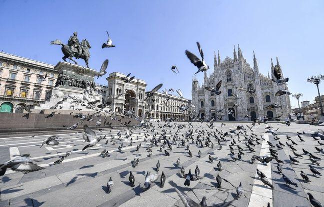 Coronavirus: Les décès en Italie au plus bas depuis plus de deux semaines
