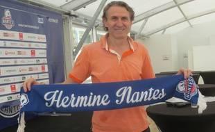 Le nouvel entraîneur Neno Asceric.