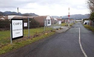 Le camp de prisonniers de Cultybraggan en Ecosse où ont été détenus jusqu'à 40.000 allemands.
