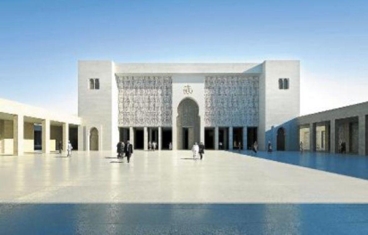 La maquette de l'architecte Maxime Repaux a été sélectionnée en 2008, la première pierre posée le 20 mai 2010. –  bam