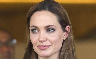 Angelina Jolie, en octobre 2011 à Genève en Suisse.