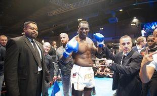 Le boxeur Patrice Quarteron en 2015.